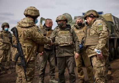 Рабочая поездка президента Украины на Донбасс в апреле 2021 года/president.gov.ua