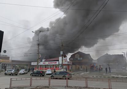 Пожежа на Качинському ринку