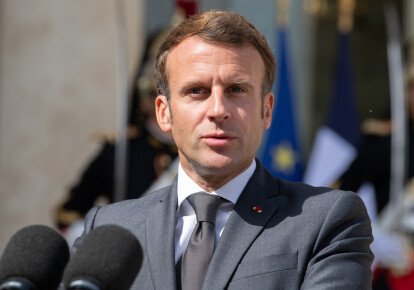 Президент Франции Эммануэль Макрон / Фото: Shutterstock