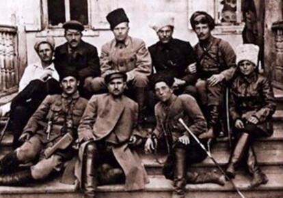 Махновский штаб в 1919-м