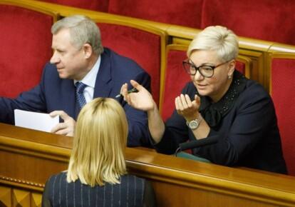 Валерія Гонтарєва і Яків Смолій