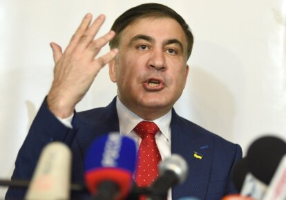 Из-за заявлений Саакашвили между Украиной и Грузией время от времени возникает напряжение. Фото: УНИАН
