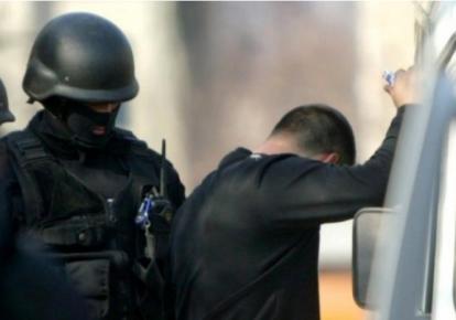 Задержание обвиняемого в похищении Николая Чауса