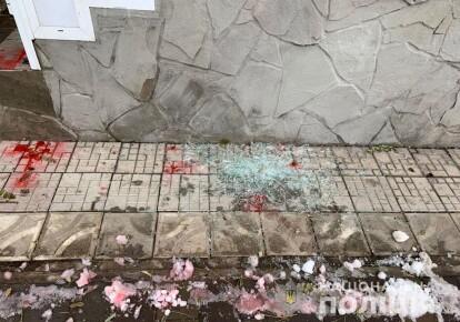 Напад на партійний офіс в Маріуполі