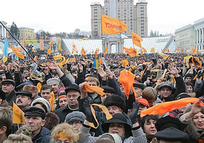 Майдан Незалежності в Києві, Помаранчева революція 2004 р.