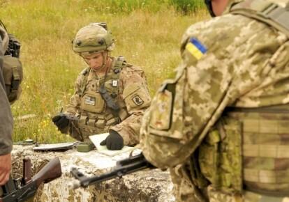Військові навчання на Яворівському полігоні (ілюстративне фото)