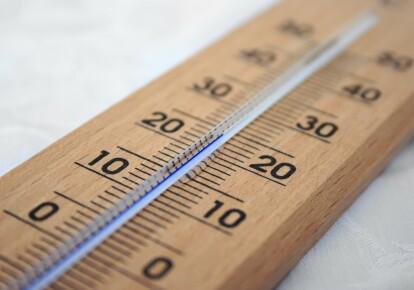 В течение недели температура повысилась на 41,9°С