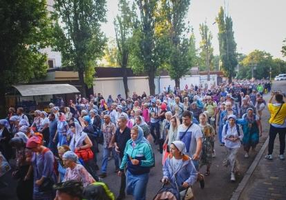Хресна хода Одеської єпархії УПЦ МП