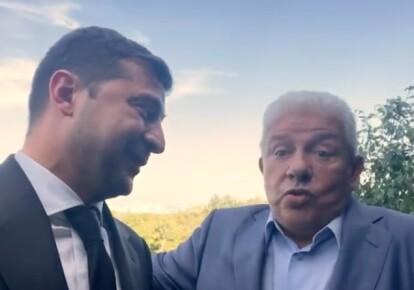 Володимир Зеленський і Олег Філімонов
