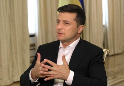 Володимир Зеленський дав інтерв'ю телеканалу Euronews/Офіс президента