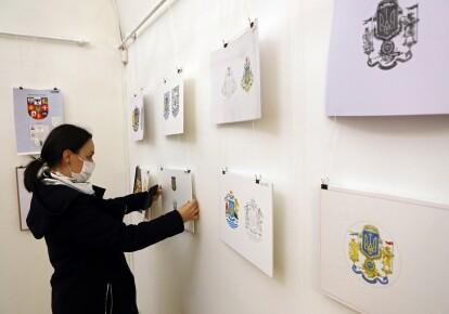 Виставка ескізів Великого герба України