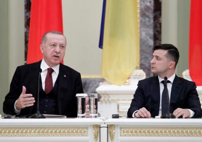 Реджеп Эрдоган и Владимир Зеленский