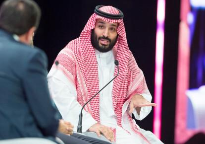 Наследный принц королевства Саудовская Аравия Мухаммед ибн Салман Аль Сауд. Фото: EPA/UPG
