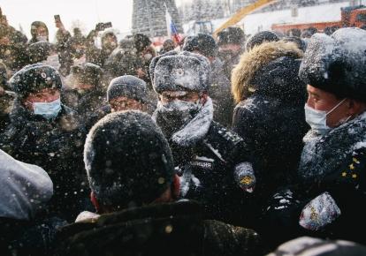 Протести в Росії в підтримку опозиціонера Олексія Навального