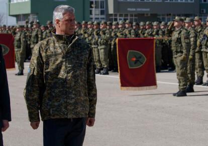 Під час війни 1998-1999 років Хашим Тачі був військовим командиром. Фото: EPA/UPG