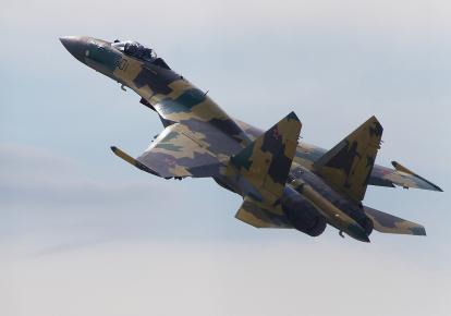 Бомбардировщик Су-35