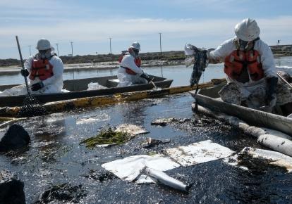 Екологічна катастрофа: розлив нафти біля узбережжя Каліфорнії