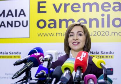 Майя Санду перемогла на президентських виборах в Молдові