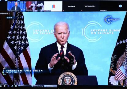 Выступление Джо Байдена на Климатическом он-лайн саммите