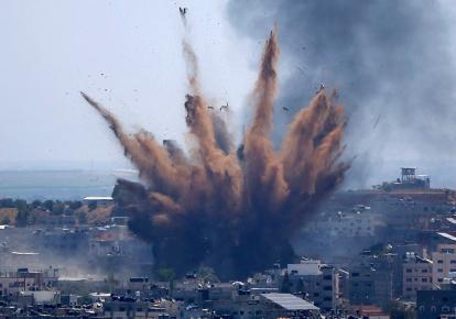 Обстріли із Сектору Гази (ілюстративне фото)
