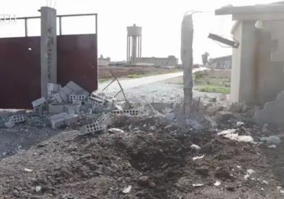 Обстрел российской базы в Сирии