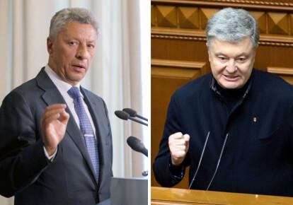 Юрий Бойко, Петр Порошенко