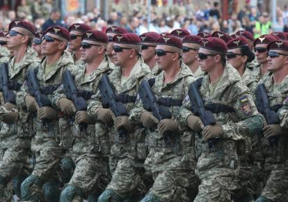У Києві пройшла перша репетиція параду до Дня Незалежності