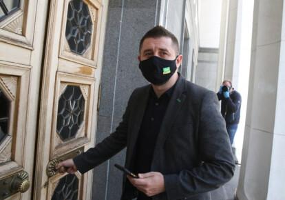 "Председатель фракции ""Слуга народа"" Давид Арахамия. Фото: УНИАН"