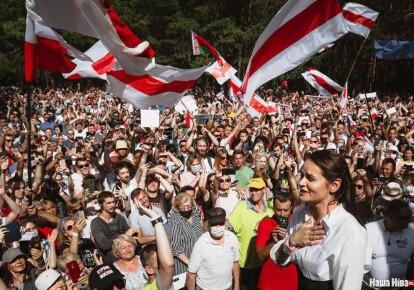 Акція протесту в Білорусі