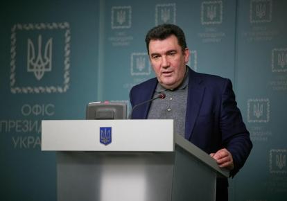 Секретар РНБО Олексій Данілов