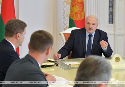 Александр Лукашенко на совещании 14 августа