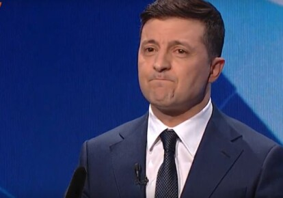 "Президент Володимир Зеленський на ток-шоу ""Свобода слова"""