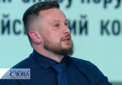"""Лидер """"Национального корпуса"""" Андрей Билецкий"""