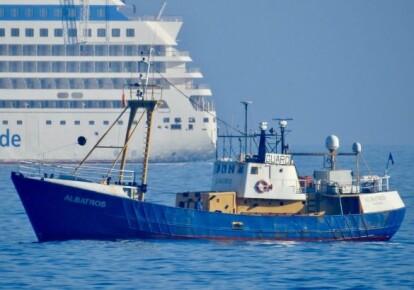"""Українці були у складі екіпажу судна """"Альбатрос"""" під панамським прапором"""