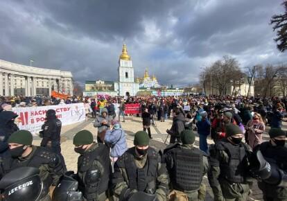 Жіночий марш-2021, Київ
