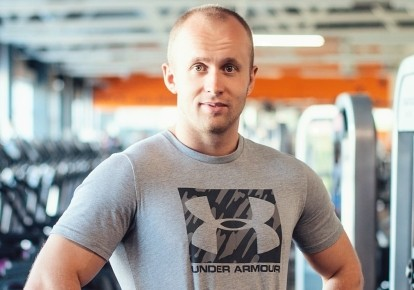 Фитнес-тренер Виктор Мандзяк