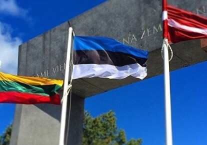 Прапори країн Балтії