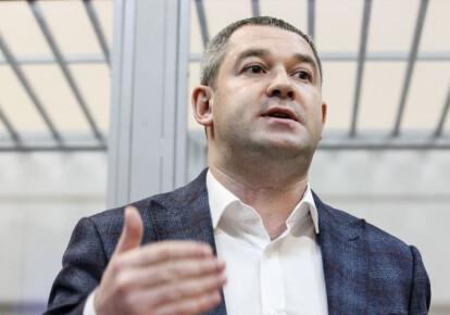 Мирослав Продан в зале суда. Фото: УНИАН