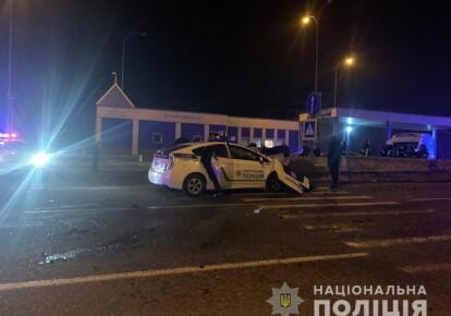 ДТП за участю авто патрульної поліції під Одесою
