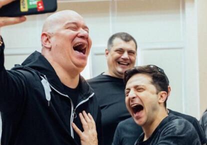Евгений Кошевой, Владимир Зеленский, Юрий Корявченков