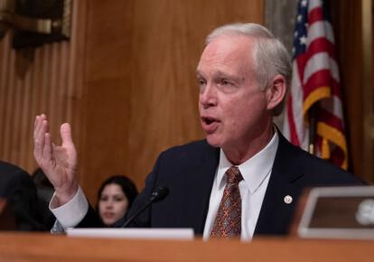 Сенатор Рон Джонсон. Фото: Getty Images