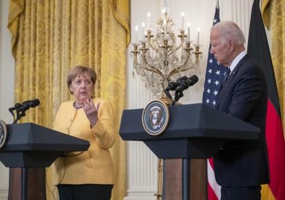 Ангела Меркель і Джо Байден