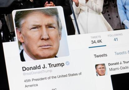 Аккаунт президента США Дональда Трампа заблокували в Twitter