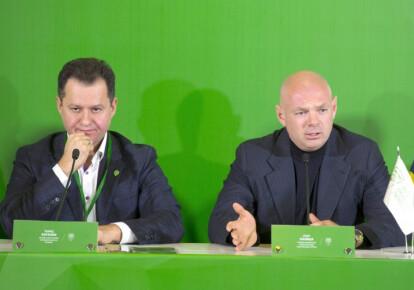 Тарас Батенко и Игорь Палица. Фото: УНИАН