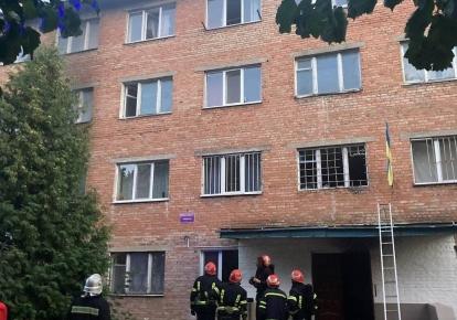 Внаслідок пожежі постраждали семеро людей
