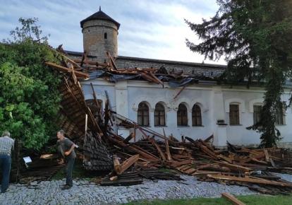 Башня Лаская Каменец-Подольского замка