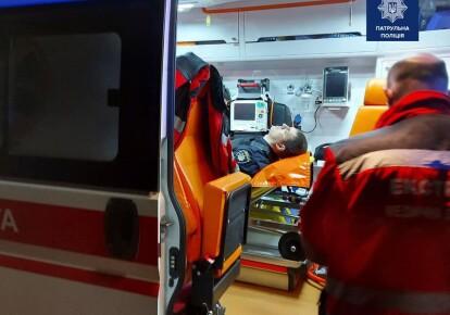 раненый патрульный