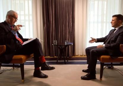 Володимир Зеленський дав інтерв'ю програмі ВВС HARDtalk/скріншот