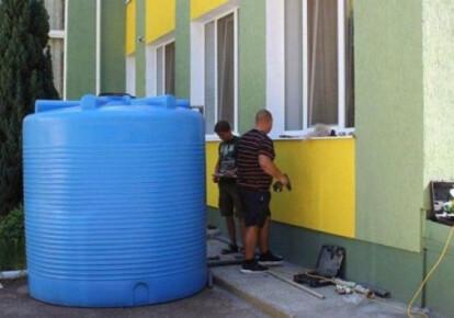 Крим без води