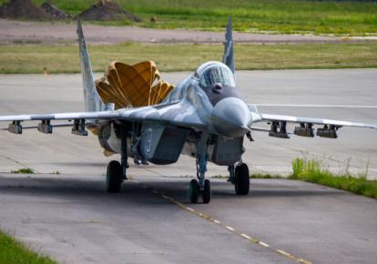 Модернизированный истребитель МиГ-29